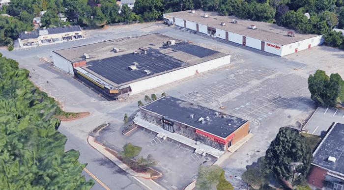 Building 19 1/2 area, Burlington MA