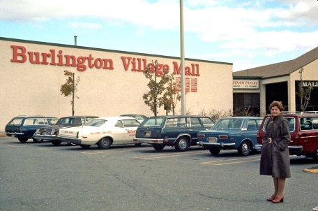 "Burlington VIllage ""Caldor"" Mall, Burlington MA 1981"