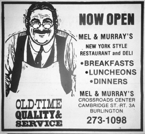 Mel & Murray's, Burlington MA