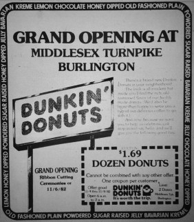 Dunkin' Donuts Middlesex Turnpike
