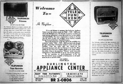 Burlington Appliance Center, Burlington MA