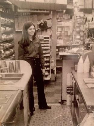 Beverly Lowe Obremski at Rexall, Burlington MA