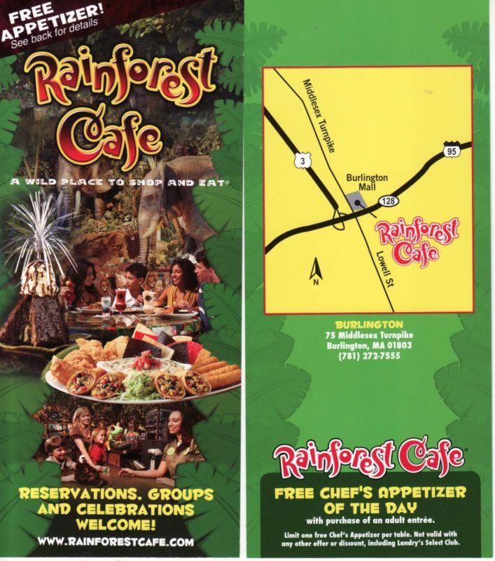Rainforest Cafe, Burlington MA
