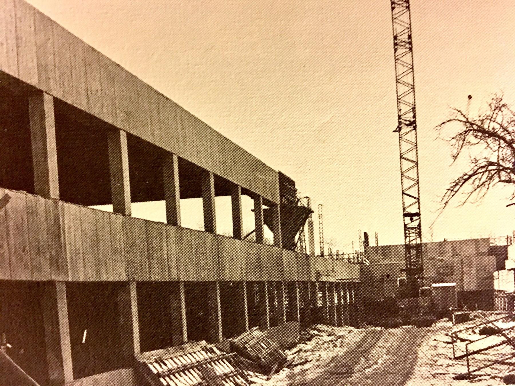 Burlington High School construction, Burlington MA