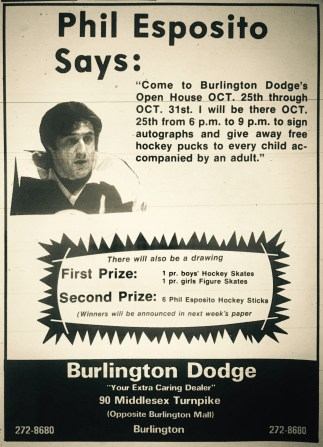 Phil Esposito Burlington Dodge