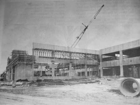 Burlington High School construction