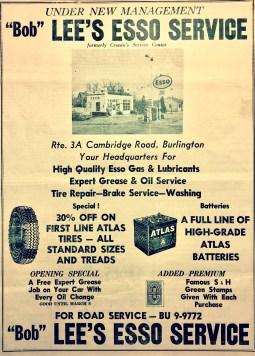 Bob Lee's Esso Service Burlington MA