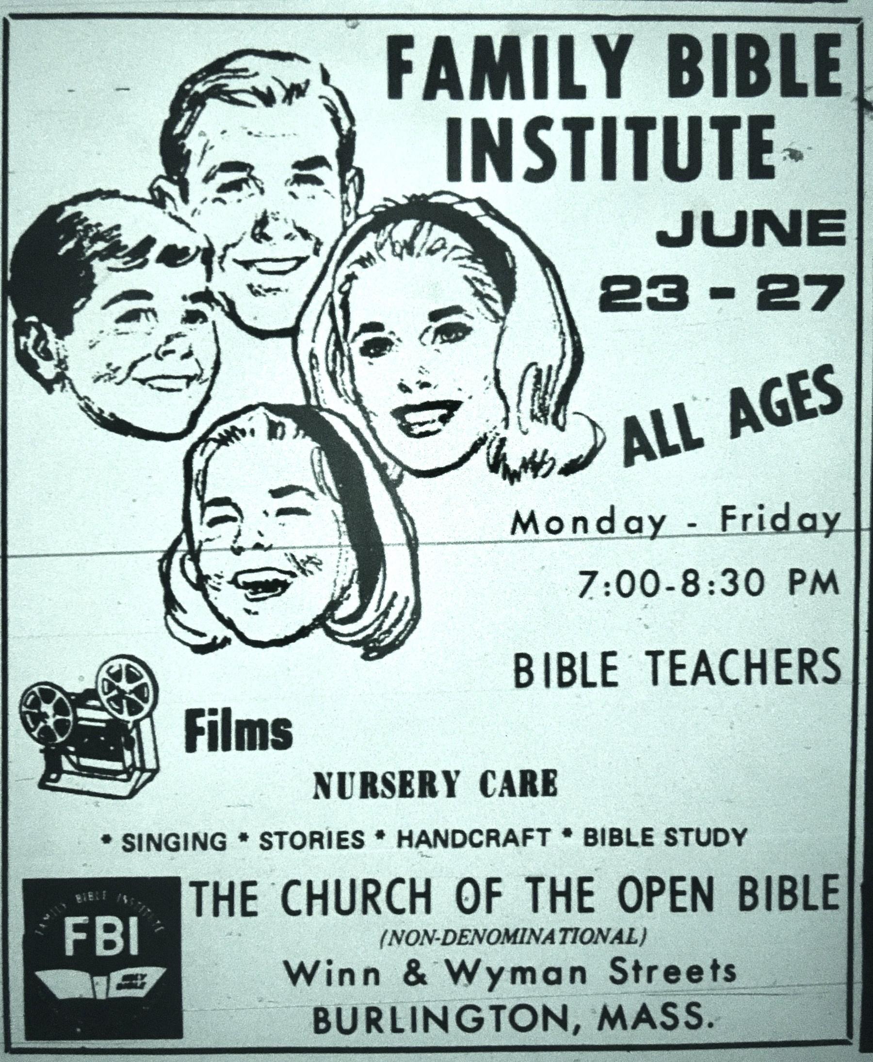 Family Bible Institute Burlington MA