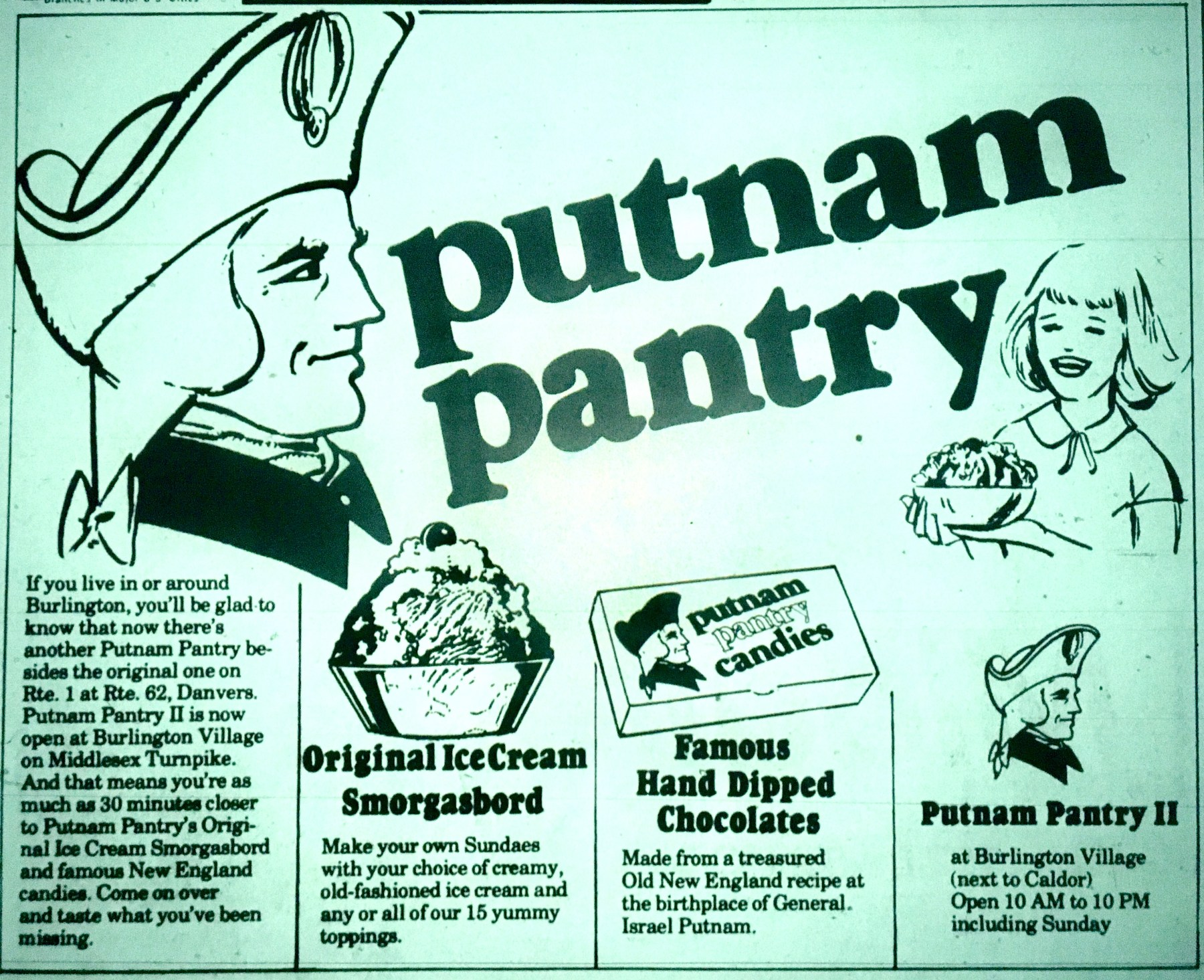 Putnam Pantry Burlington MA