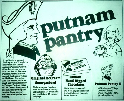 Putnam Pantry Burlington MA