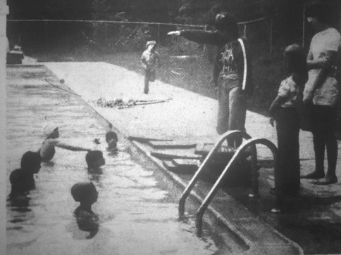 YWCA pool, Burlington MA