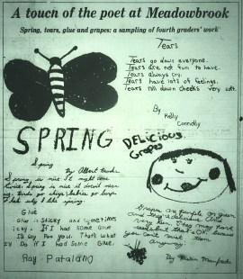 Meadowbrook poetry, Burlington MA