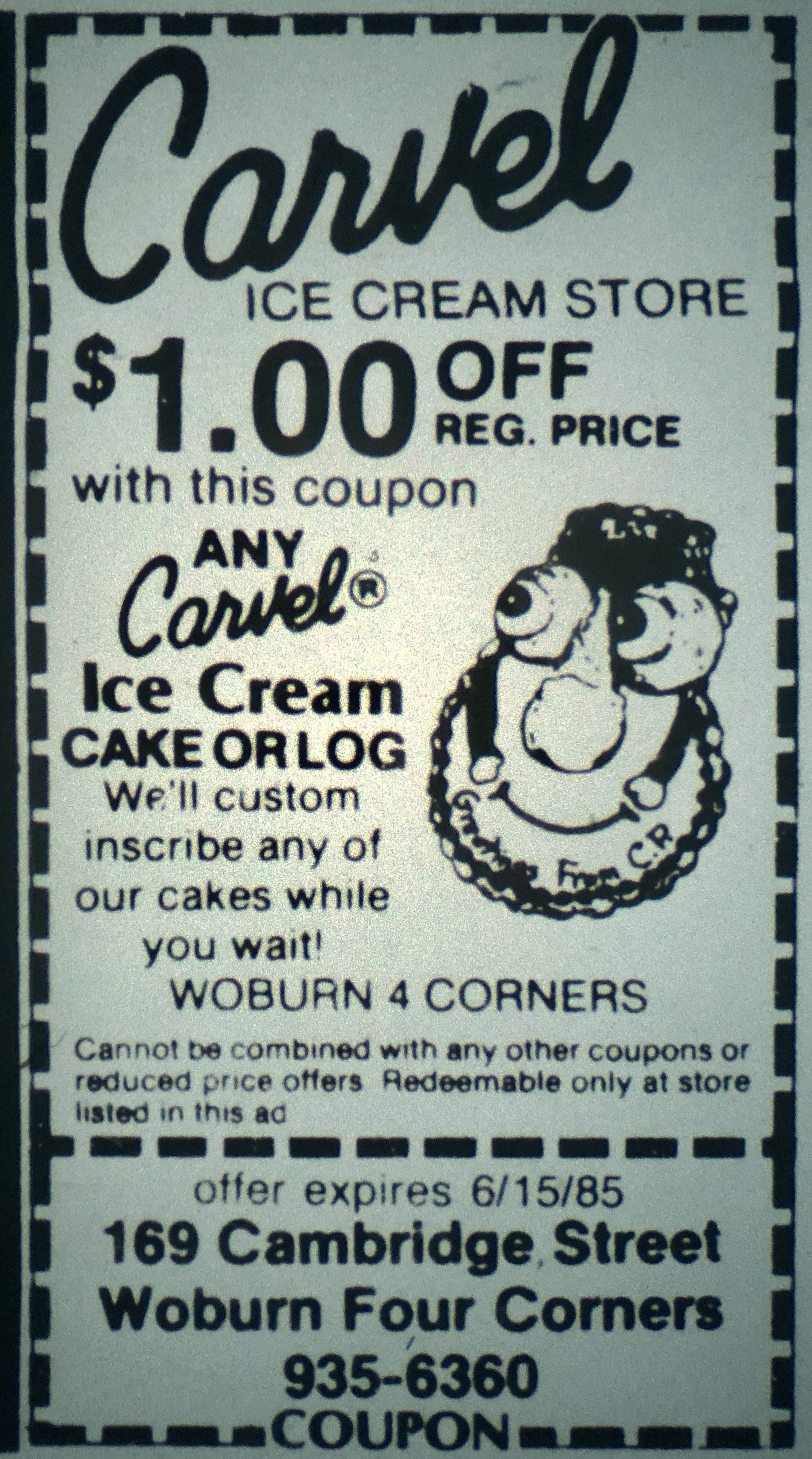 Carvel Ice Cream, Woburn MA