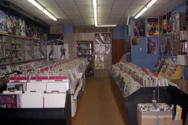 Music Shoppe 1985 interior