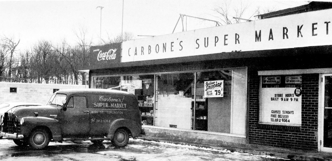 Carbone's Super Market, Burlington MA