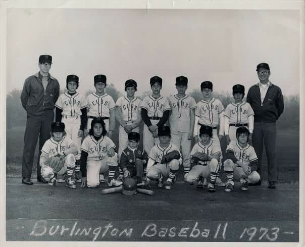 Burlington Baseball 1973