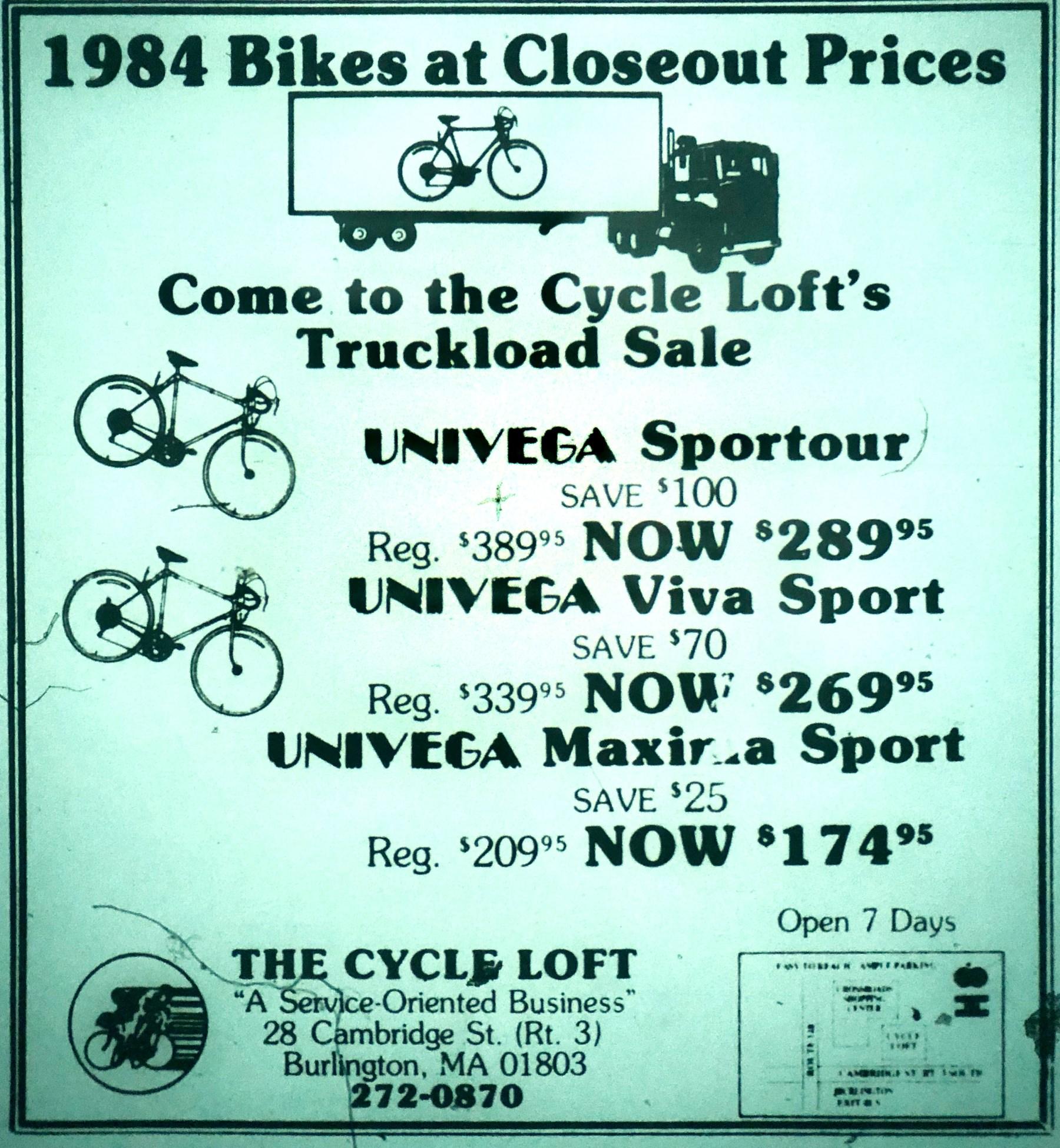 Cycle Loft, Burlington MA