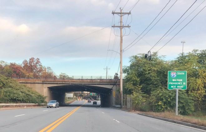 Winn St. overpass, 2017