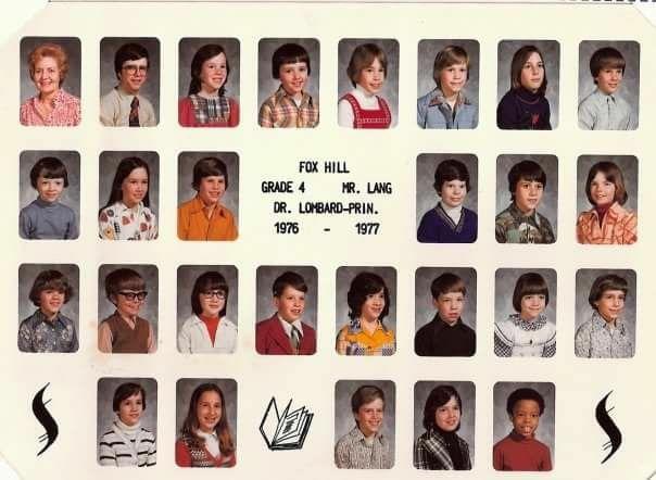 1976 Fox Hill School Burlington MA Mr. Lang