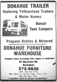 Donahue Trailer, Burlington MA