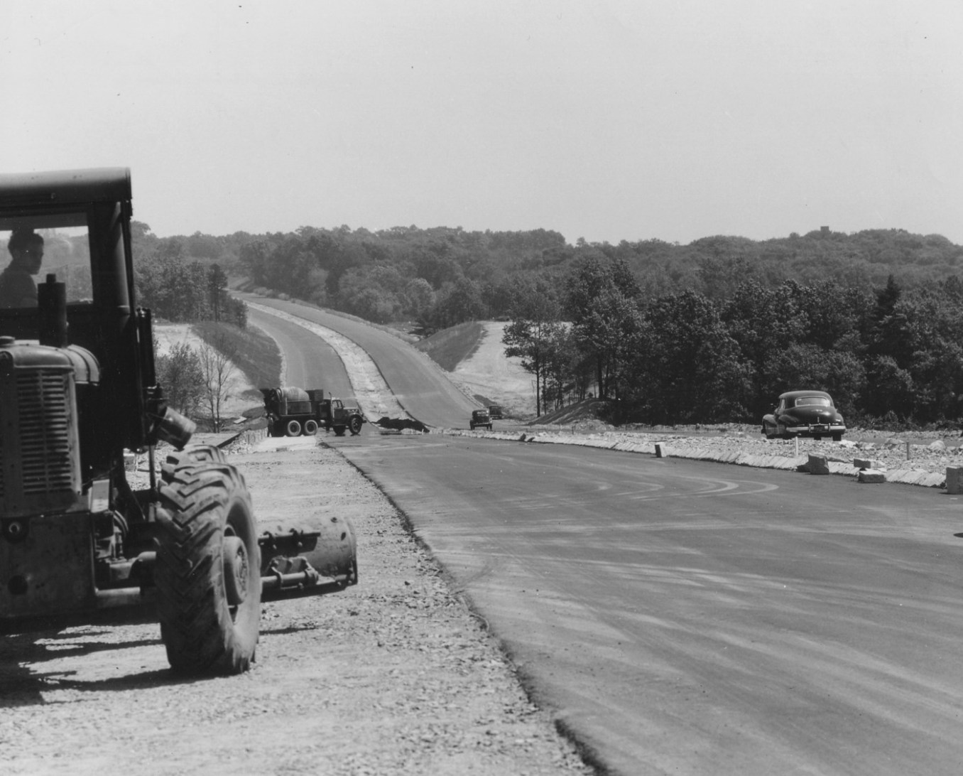 Route 128 Burlington 1950