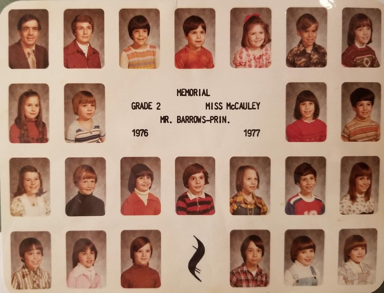 1976 Memorial School Burlington MA McCauley