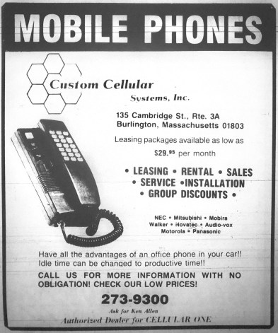 Mobile Phones, Burlington MA