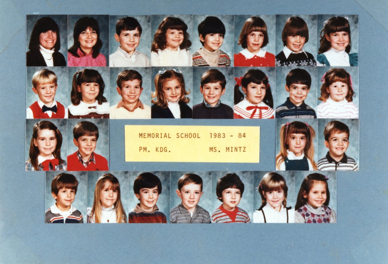 1983 Memorial School Burlington MA Mintz