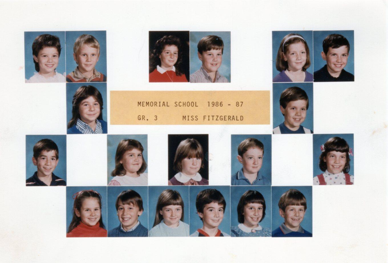 1986 Memorial School Burlington MA Fitzgerald