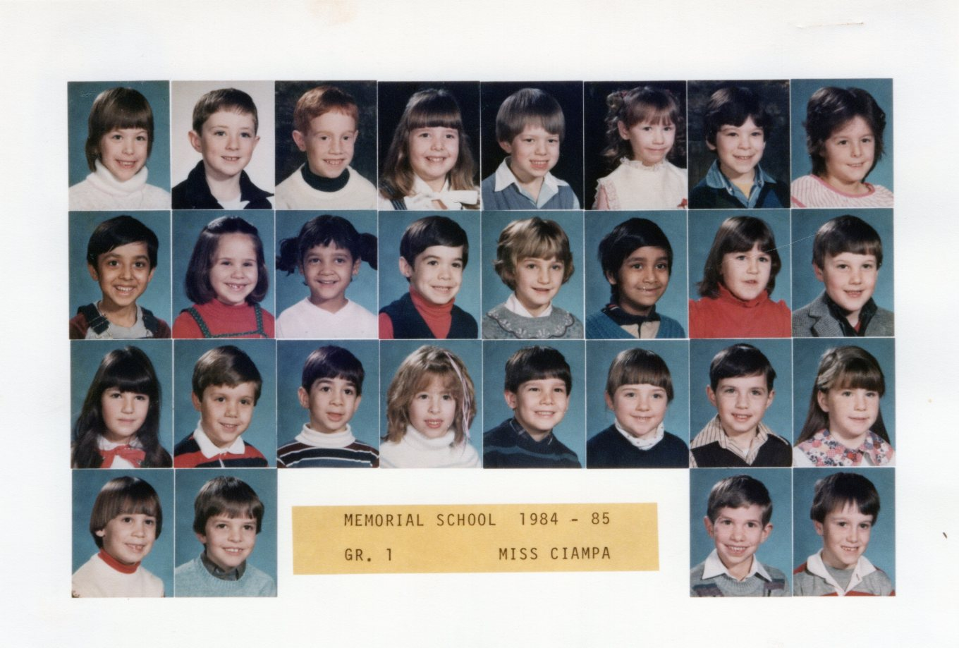 1984 Memorial School Burlington MA Ciampa