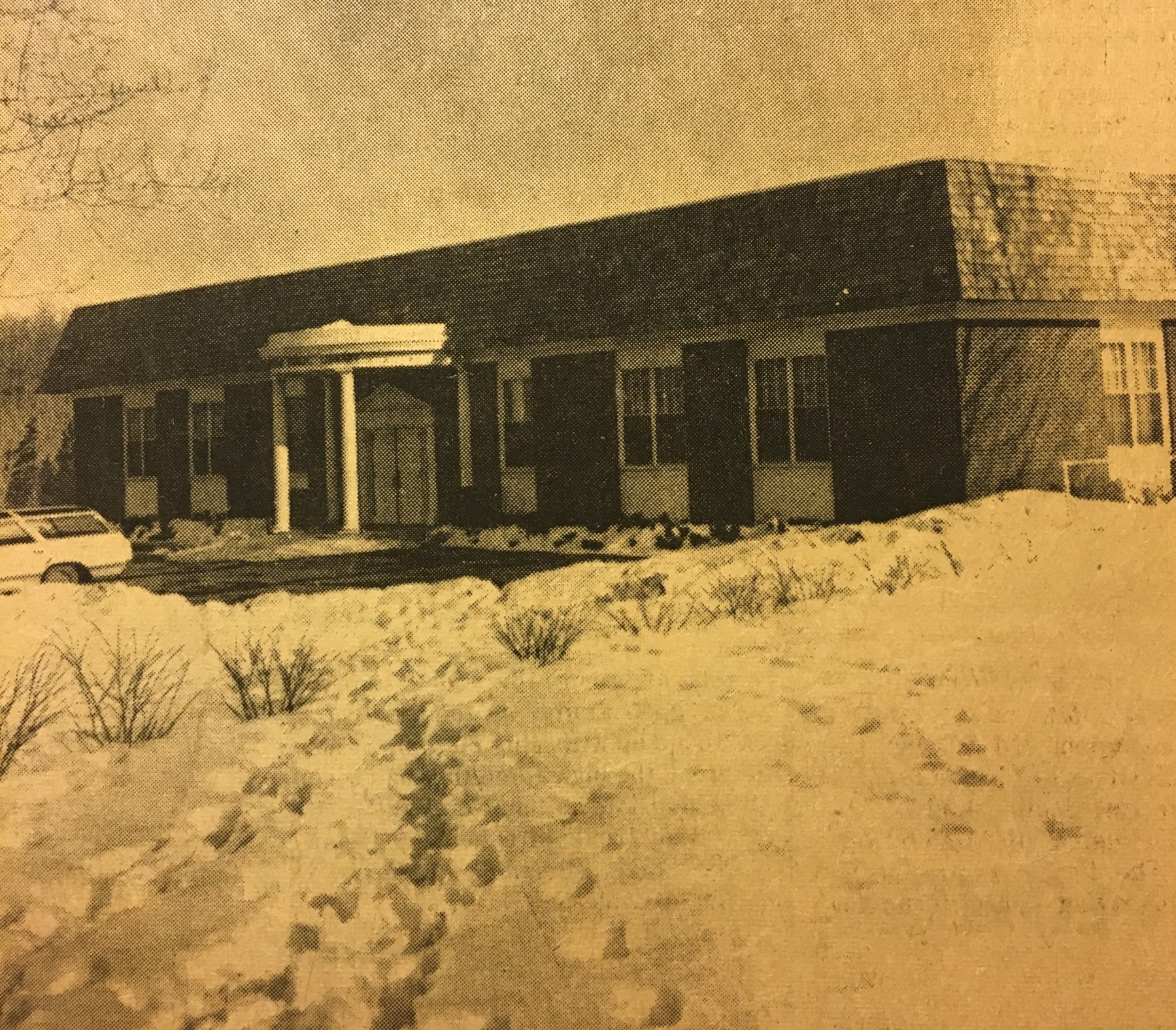 Burlington Library 1968 to 1995, Burlington MA