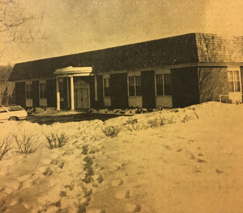Burlington Library 1968 to 1995, Burlington MA