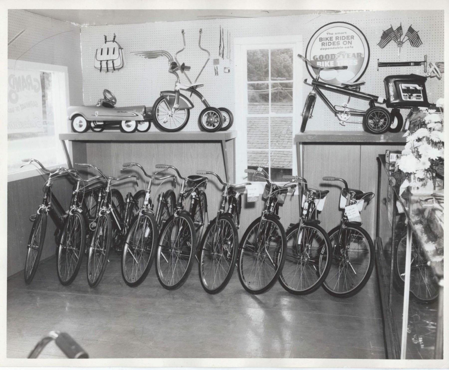 Neilsen's Bike Shop interior