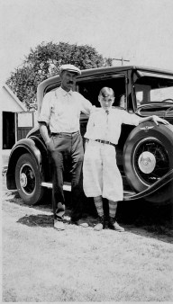 William Kerrigan Sr. and Jr. in 1930