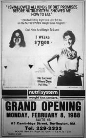Nutri System grand opening, Burlington MA