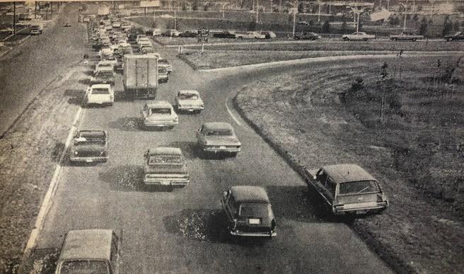 Burlington Mall traffic