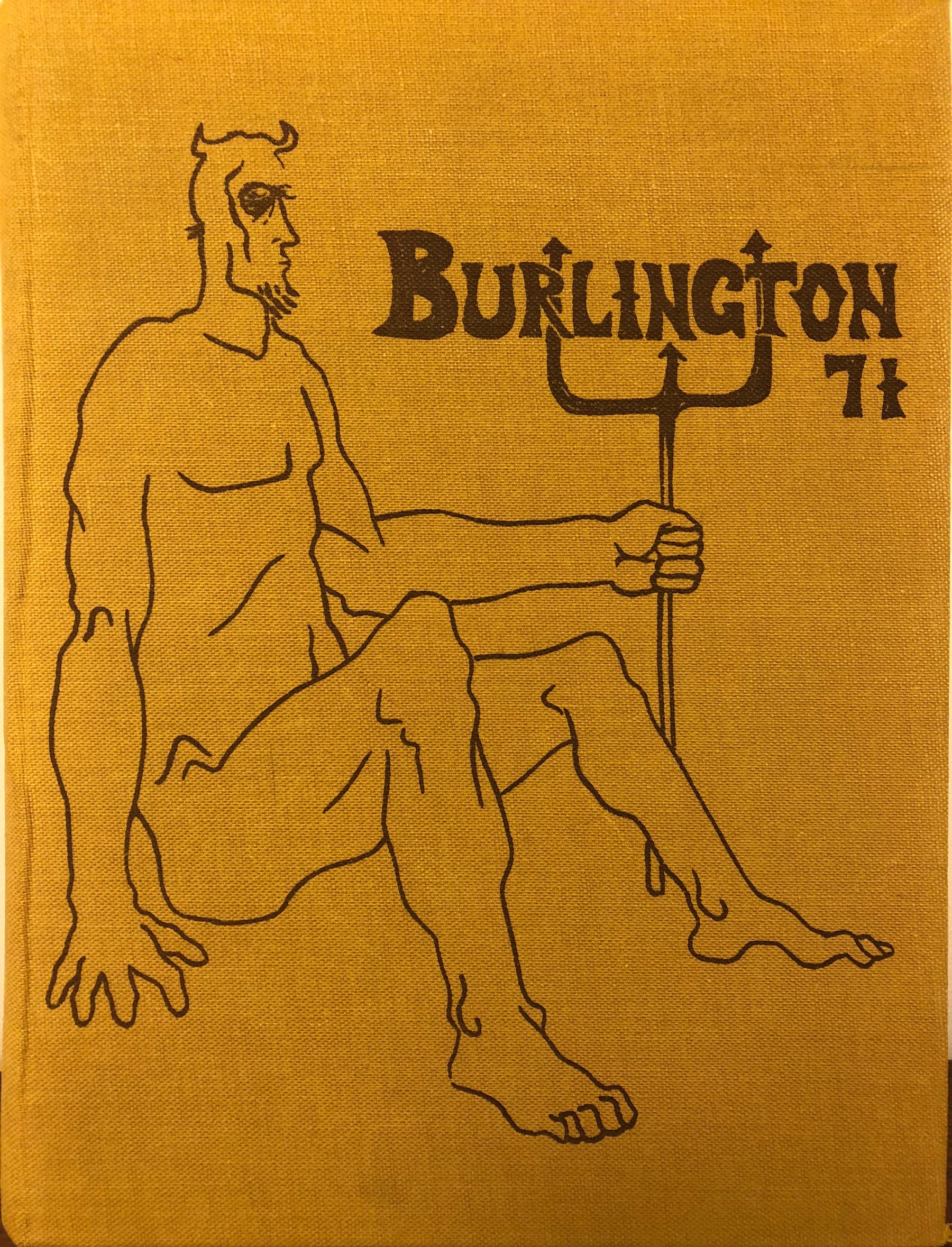 Burlington High School Burlington MA 1971 yearbook