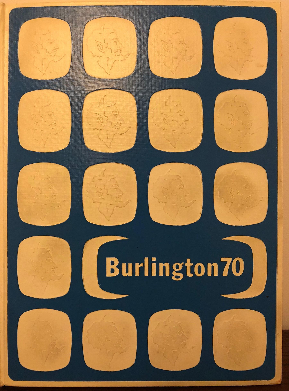 Burlington High School Burlington MA 1970 yearbook