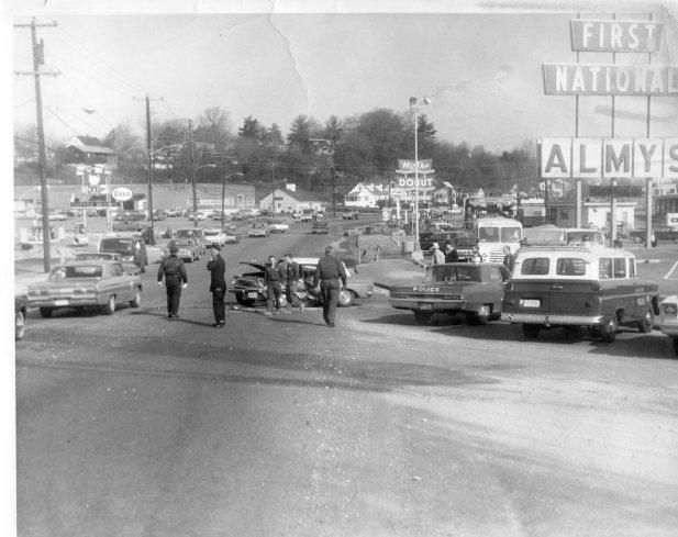 Mid-1960s Burlington, MA downtown