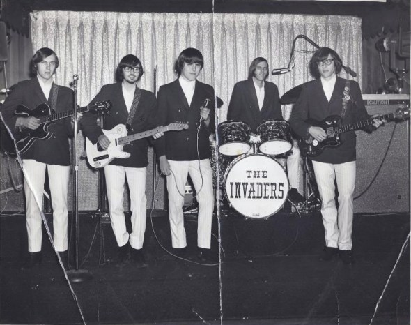 The Invaders group, circa 1967, Burlington MA