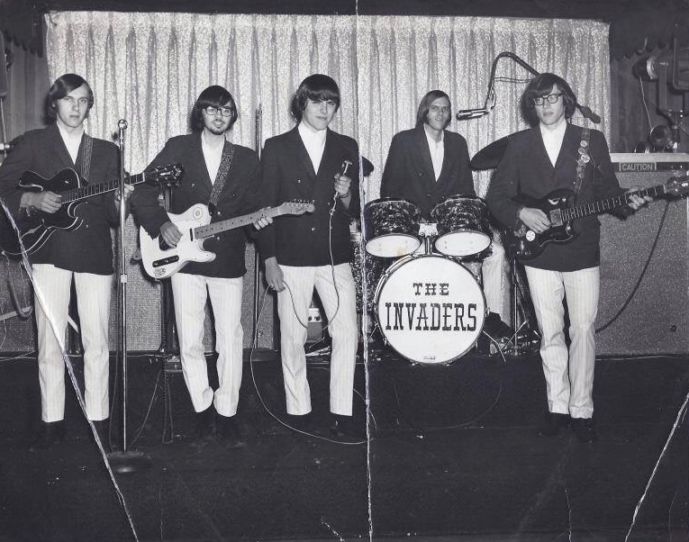 The Invaders Burlington band 1967
