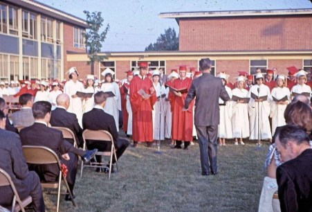 BHS graduation 1967 4