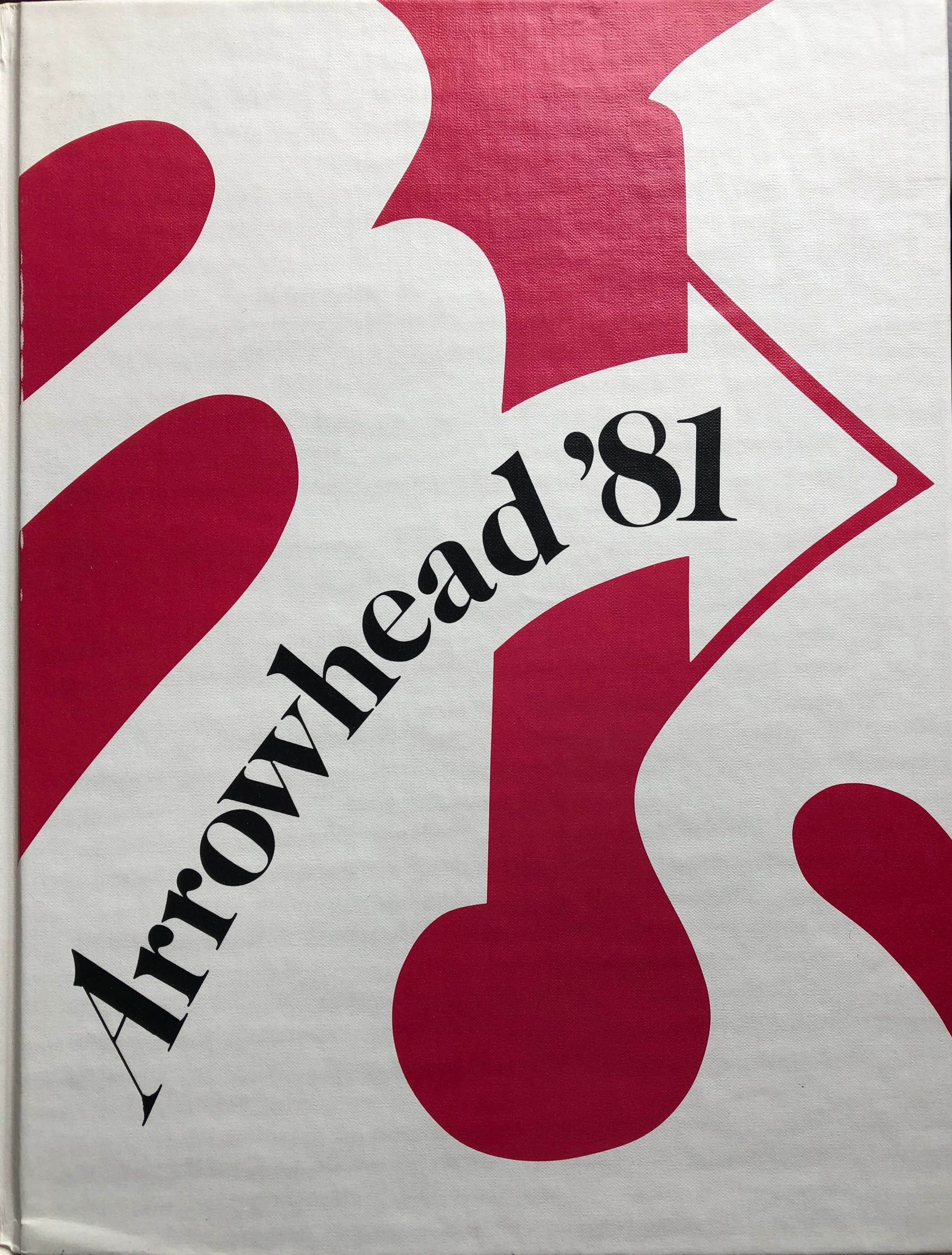 1981 Burlington High School yearbook, Burlington MA