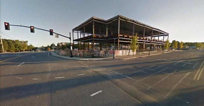 Bancroft restaurant under construction, Burlington MA