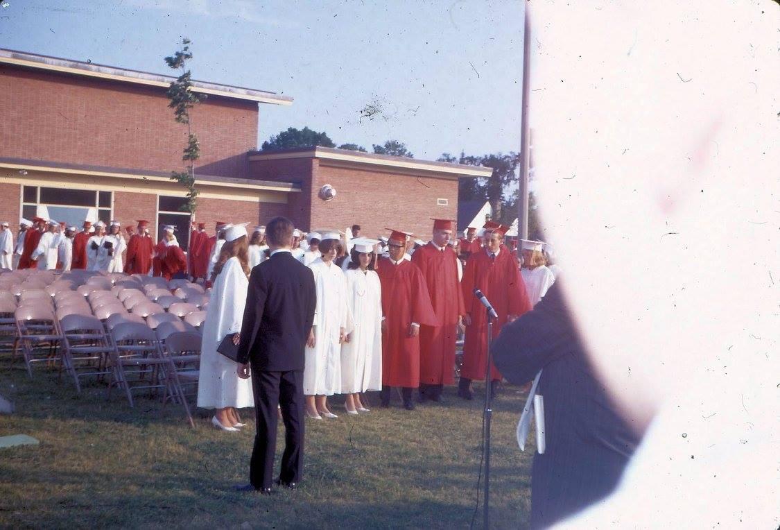 BHS 1967 graduation 1