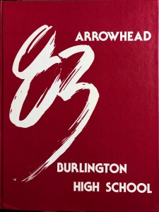 1983 Burlington High School yearbook, Burlington MA