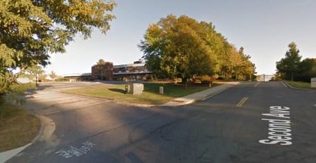 Second Ave. before The Tremont complex was built, Burlington MA