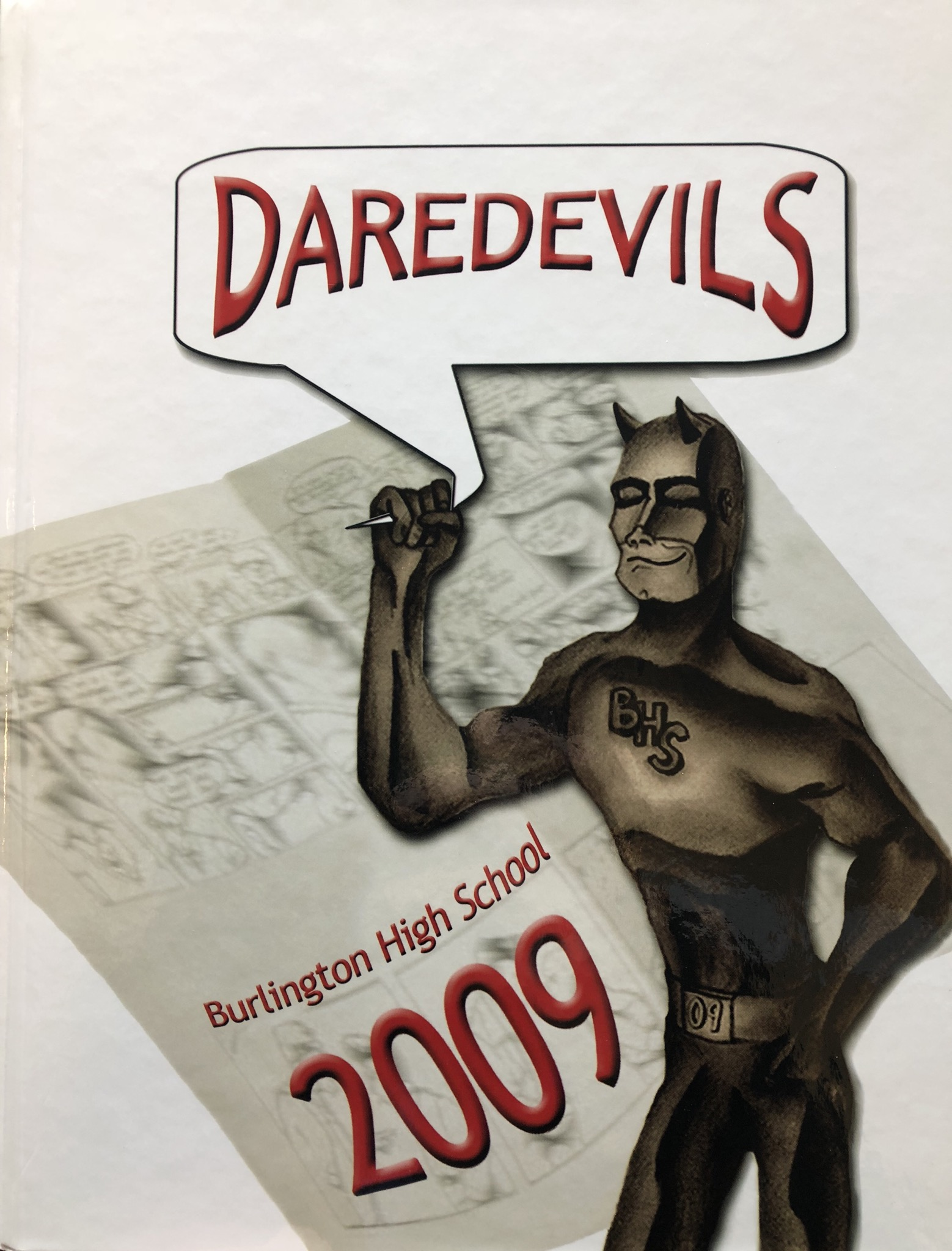 Class of 2009 Burlington MA High School yearbook cover