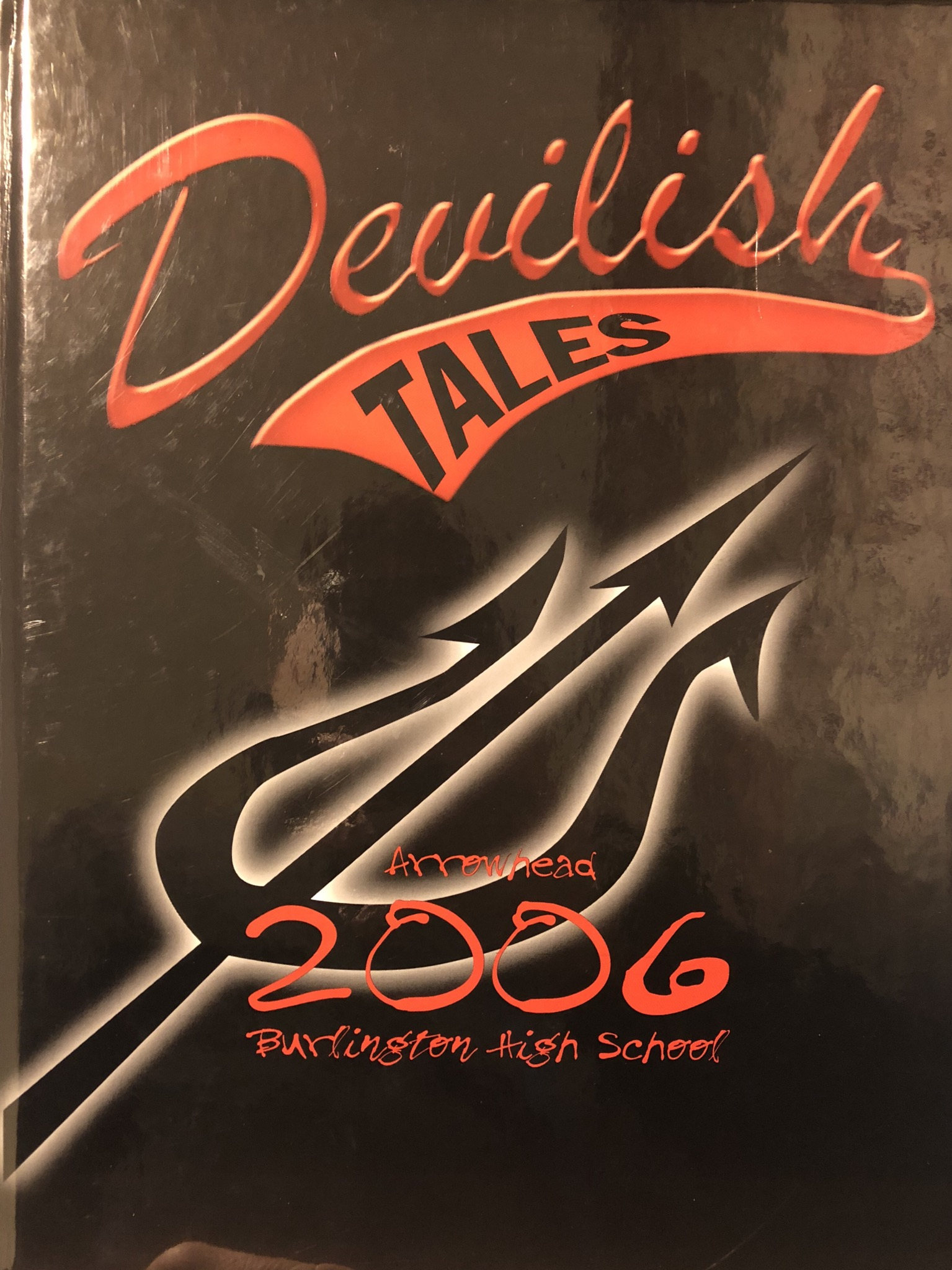 Class of 2006 Burlington MA High School yearbook cover