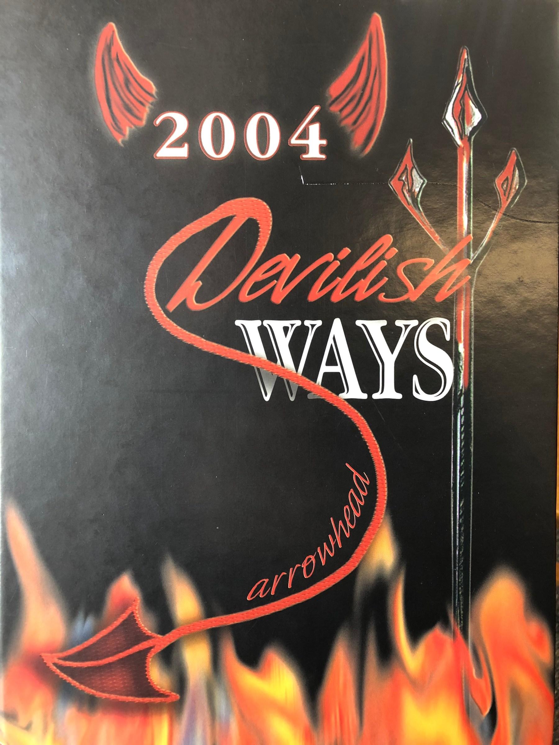 Class of 2004 Burlington MA High School yearbook cover